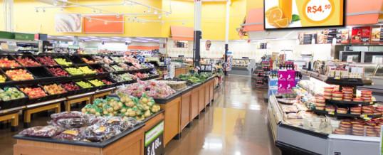 Benefícios da mídia indoor em supermercados